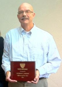 2011 Outstanding Official of the Year, Tony Anegon